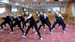 Часть 8.Открытый урок 2016 г.Народный ансамбль современного танца