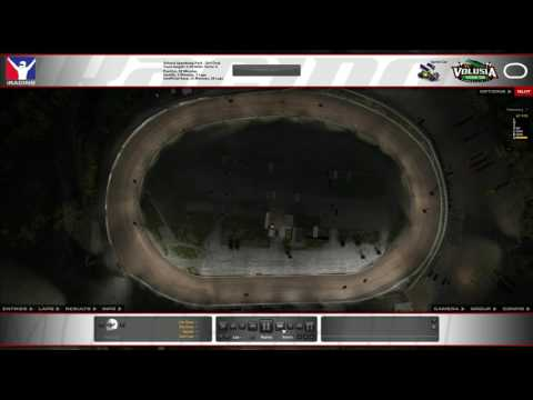 iRacing Dirt Time Lapse @ Volusia Speedway Park