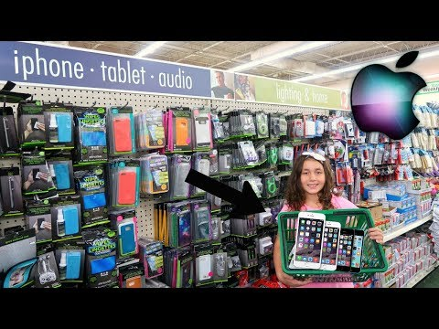 $1 IPHONE SHOPPiNG SPREE CHALLENGE AT DOLLAR TREE!