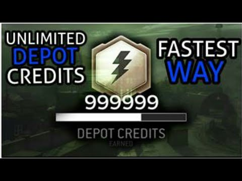 MWR- Depot credit glitch (fastest way!)