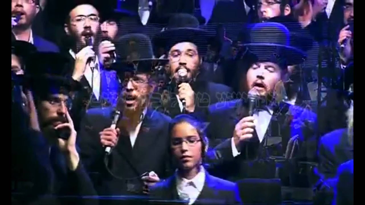 "Yanky Stern With Choir Sing ""Torah Hakedosha"" ילד הפלא יענקי שטרן"