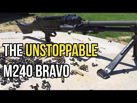 The Unstoppable M240 Bravo (FN MAG)
