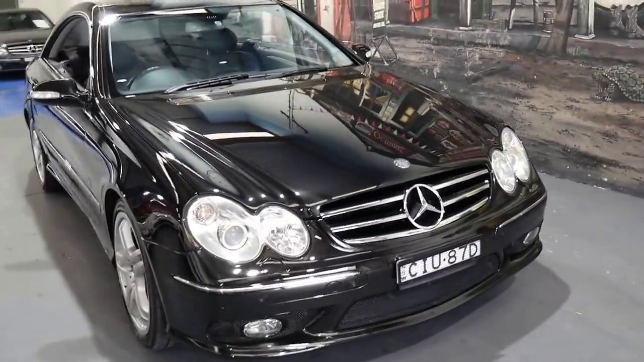 2004 My05 Mercedes Benz Clk55 Amg In Mint Condition