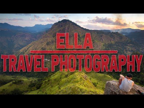 Travel Photography in Ella, Sri Lanka