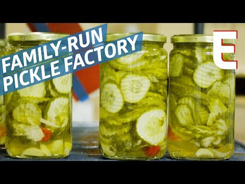 6500 Jars of Pickles Daily at the McClure's Factory — The Process