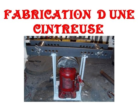 fabrication d une cintreuse tube youtube. Black Bedroom Furniture Sets. Home Design Ideas