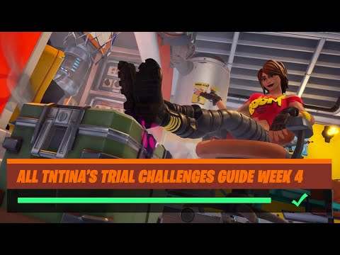 Fortnite All 'TNTina's Trial' (Week 4) Challenges Guide - Chapter 2 Season 2