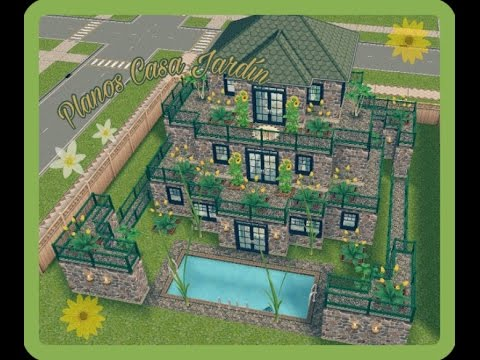 The sims free play construcciones construcci n planos for Casa de diseno the sims freeplay