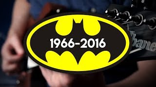 Repeat youtube video Batman Movie Themes (1966 - 2016) on Guitar