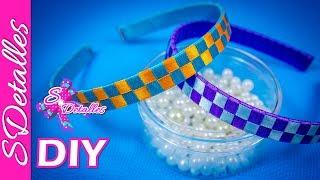 tejido de diadema o cintillo 1 headband fabric 1   video 22   sdetalles   diy