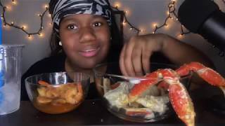 PART 2| SEAFOOD WITH OUT THE CHEESE MUKBANG