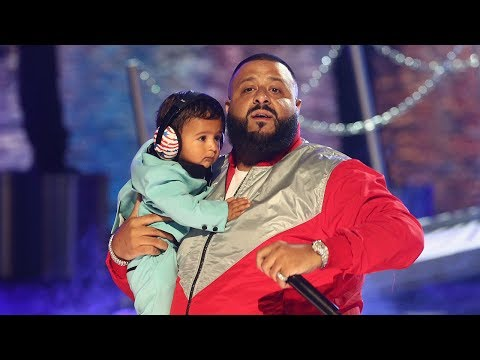 """DJ Khaled's Son Asahd Steals The Show During """"I'm The One"""" BET Awards Performance"""