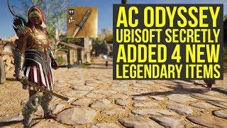 Assassin's Creed Odyssey DLC - Ubisoft Secretly Added 4 New Legendary Items (AC Odyssey DLC)