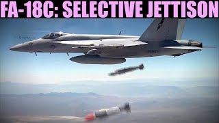 FA-18C Hornet: (Out Of Date) Selective Jettison   DCS WORLD