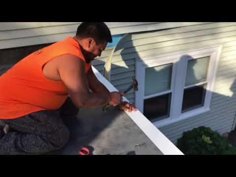 RUBBER ROOF REPAIR WARWICK RI..🌤✨ KAC Construction (401)837-6730