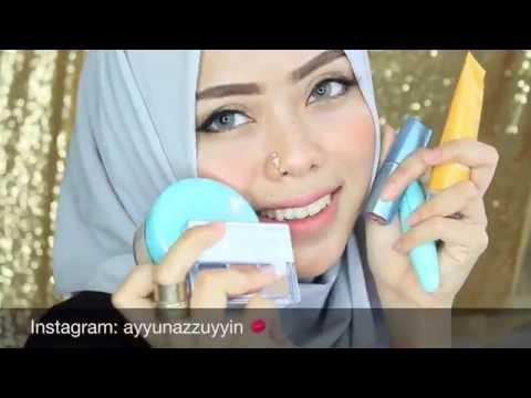 Wardah kosmetik (One brand makeup tutorial) | Ayyunazzuyyin | makeup indonesia