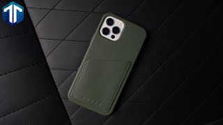 iPhone 12 Pro Mujjo Leather Wallet Case Review!