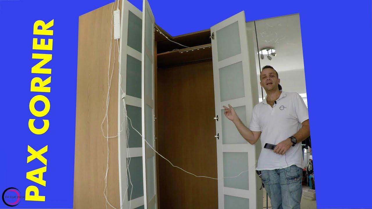 Ikea Pax Wardrobe Corner
