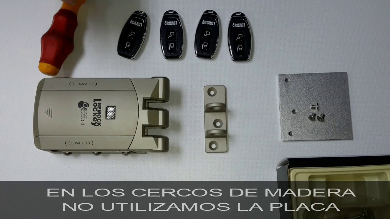 Cerradura Invisible Remock Lockey Youtube