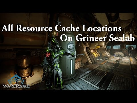 Warframe | All Resource Cache Locations On Grineer Sealab (Sabotage) thumbnail