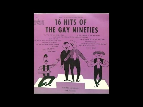 Barber Shop Quartet: 16 Hits Of The Gay Nineties Halo Records