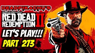 Let's Play Red Dead Online (New Update File!) | deadPik4chU's Live Stream Part 273