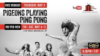 Pigeons Playing Ping Pong Live from Brooklyn Bowl Sneak Peak