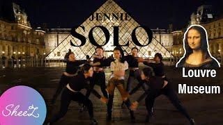 [KPOP IN PUBLIC PARIS/LOUVRE MUSEUM] JENNIE - SOLO Dance Cover #1 VER.