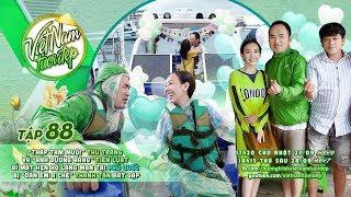 Thập Tam Muội Thu Trang & Tiến Luật hẹn hò lãng mạn tại Phú Quốc bị Thanh Tân bắt gặp  | VNTĐ Tập 88