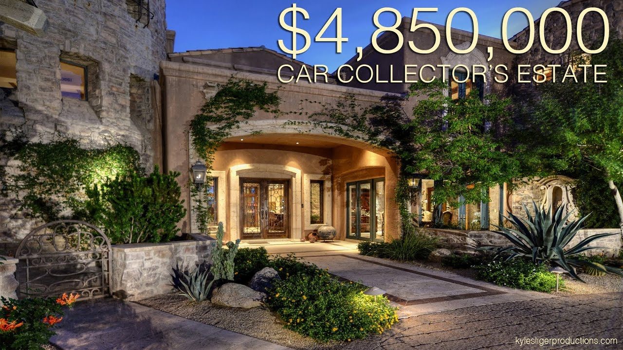 8 Million Dollar Car Wallpapers 4 85 Million Dollar Car Collectors Dream Home Scottsdale