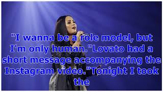 °Demi Lovato Fights Back Tears Performing 'Sober' After Reported Relapse -- Watch   Entertainment...