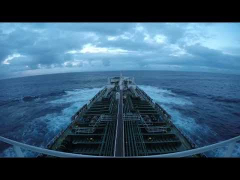 Navigation - merchant navy Shipping timelapse