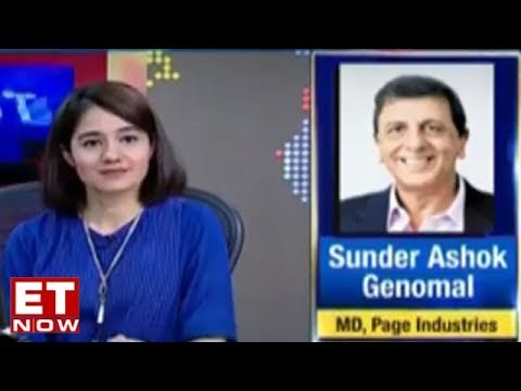 Sunder Ashok Genomal Of Page Industries Speaks About License Pact With Jockey