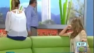 Caída de presentadora del programa de televisión  RCN