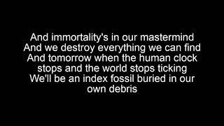 Bad Religion-Part IV(The Index Fossil) Lyrics