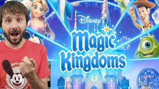 DISNEY MAGIC KINGDOMS GAMEPLAY - My First Gameplay!