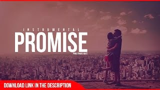 """Promise"" - Romantic Beat Instrumental | Love Emotional R&B | 2015"