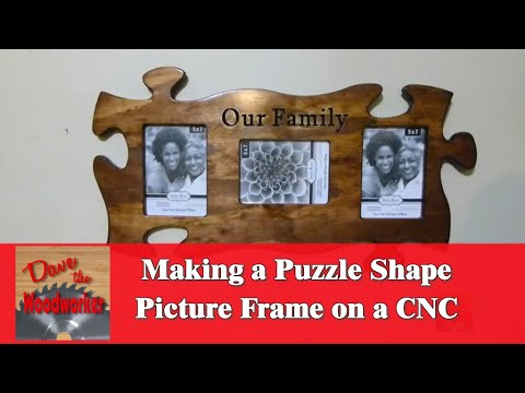 Making A Puzzle Picture Frame Youtube