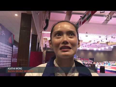 Asian Games: Agatha Wong Bags Asian Games Wushu Bronze