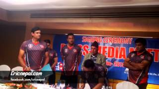 Nepal Cricket Team gets new Sponsors