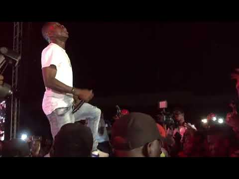 Check Out Small Doctor Performance At Mayorkun Concert in Ibadan