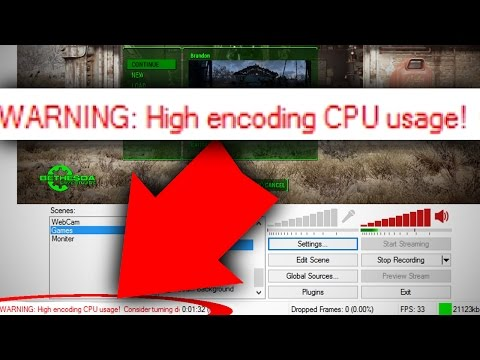 OBS HIGH ENCODING FIX [Tutorial] - YouTube