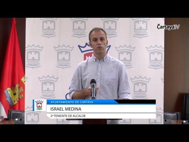 Radio Cartaya | Israel Medina informa de sus responsabilidades en el nuevo equipo de goierno