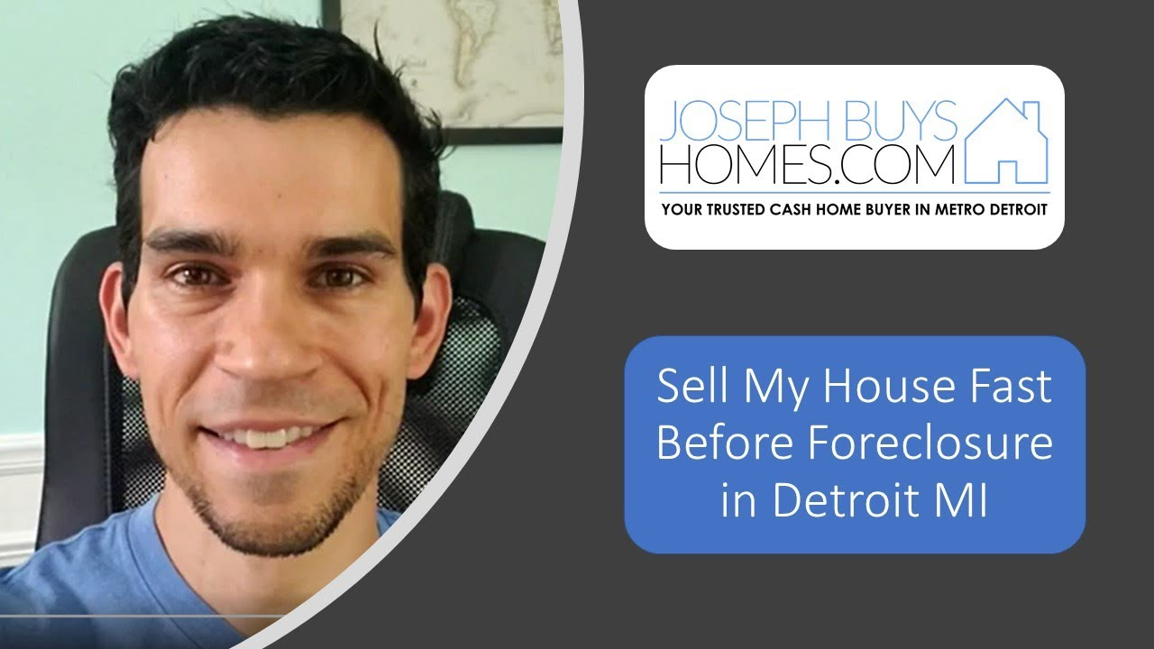 Sell My House Fast Before Foreclosure In Detroit MI | CALL 586.991.3237 | We Buy Houses Detroit