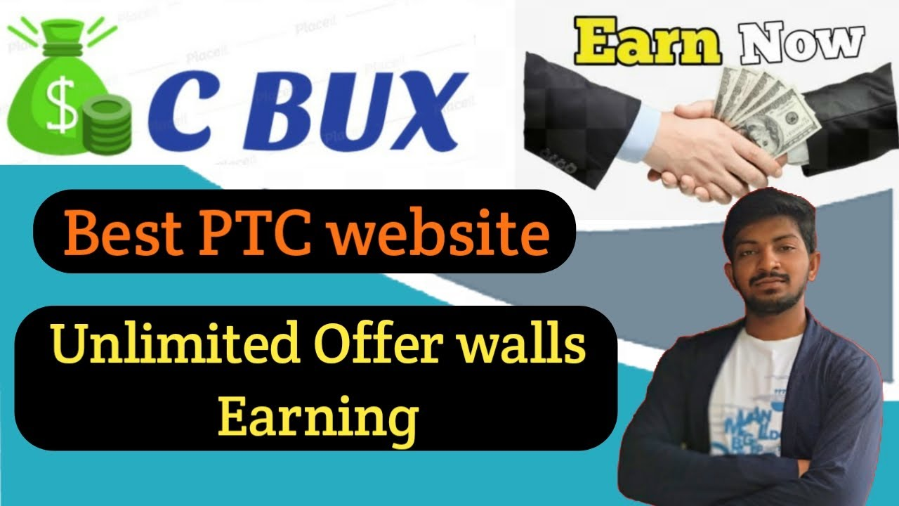 Earn Money from C Bux | Best PTC Website in 2020 In Telugu | PayPal, Payeer, Bitcoin Earning