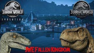 Jurassic World Evolution: Fallen Kingdom