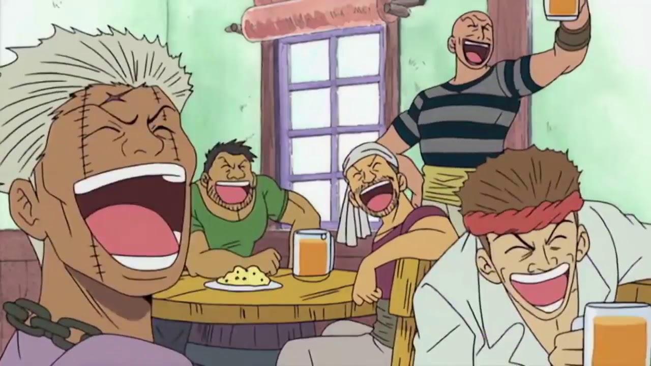Monkey D Luffy Eats Gum Gum Fruits