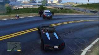 GTA V Cops gone Wild Clip 1