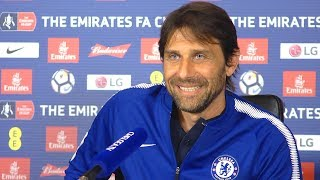 Antonio conte full pre-match press conference - chelsea v southampton - premier league