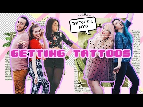 Our New Tattoos & Photoshoots in NYC 🎀 vlog